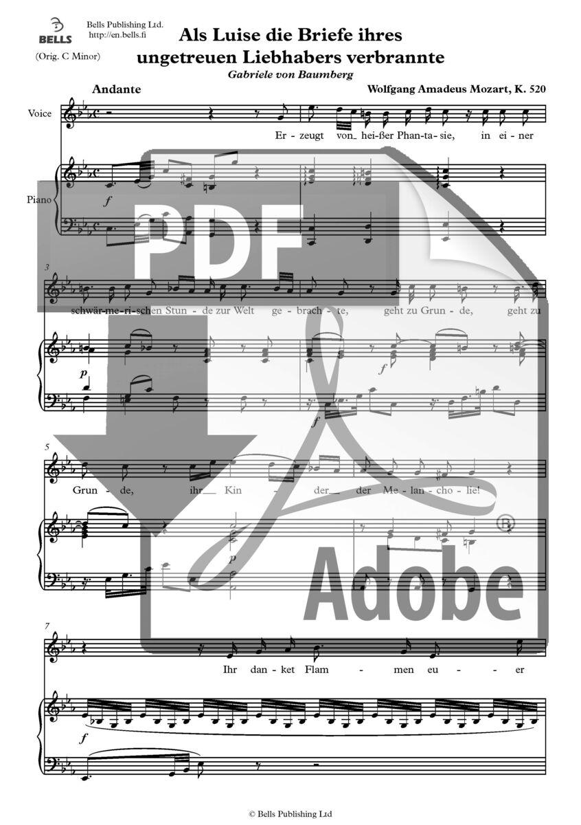 Briefe Von Mozart : Wolfgang amadeus mozart als luise die briefe ihres