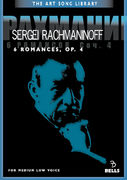 Sergei Rachmaninoff: 6 Romances, Op. 4 - for medium low voice